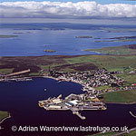 Scalloway, the largest settlement on the west Mainland, Shetland , Shetland Islands, Scotland